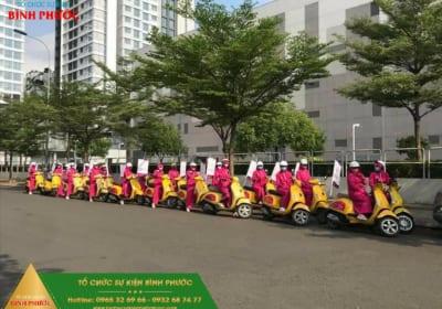 Dịch vụ tổ chức roadshow chuyên nghiệp giá rẻ tại Bình Phước