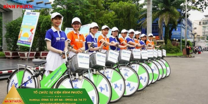 Tổ chức roadshow chuyên nghiệp tại Bình Phước