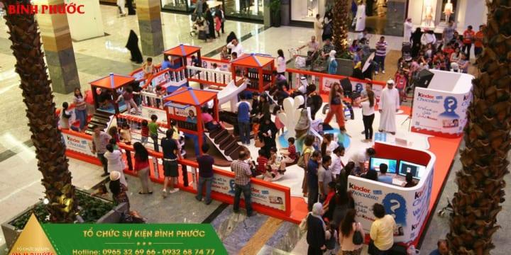 Dịch vụ tổ chức Activation giá rẻ tại Bình Phước