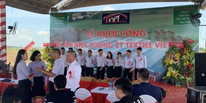 Dịch vụ tổ chức lễ khởi công chuyên nghiệp tại Bình Phước