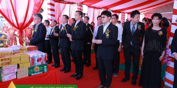 Dịch vụ tổ chức lễ khởi công giá rẻ tại Bình Phước