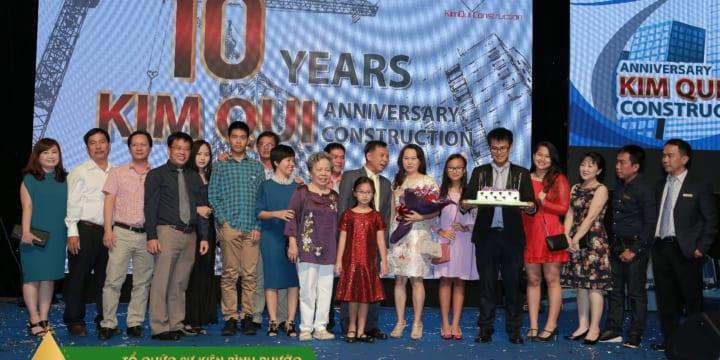 Tổ chức lễ kỉ niệm thành lập chuyên nghiệp giá rẻ tại Bình Phước