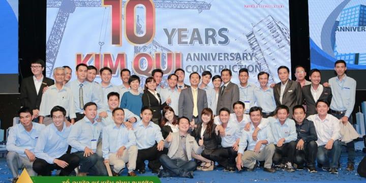 Dịch vụ tổ chức lễ kỉ niệm thành lập giá rẻ tại Bình Phước