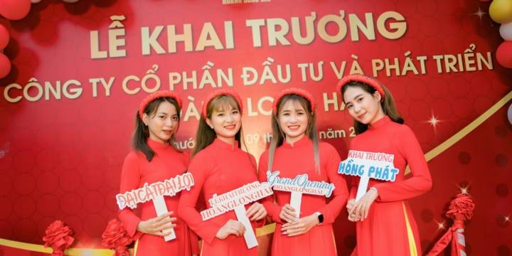 Tổ chức lễ khai trương giá rẻ tại Bình Phước