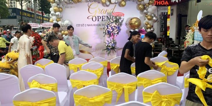 Cho thuê bàn ghế giá rẻ nhất tại Bình Phước